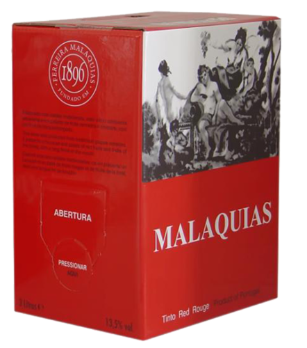 Malaquias Tinto Bag-in-Box - 5 Ltr.